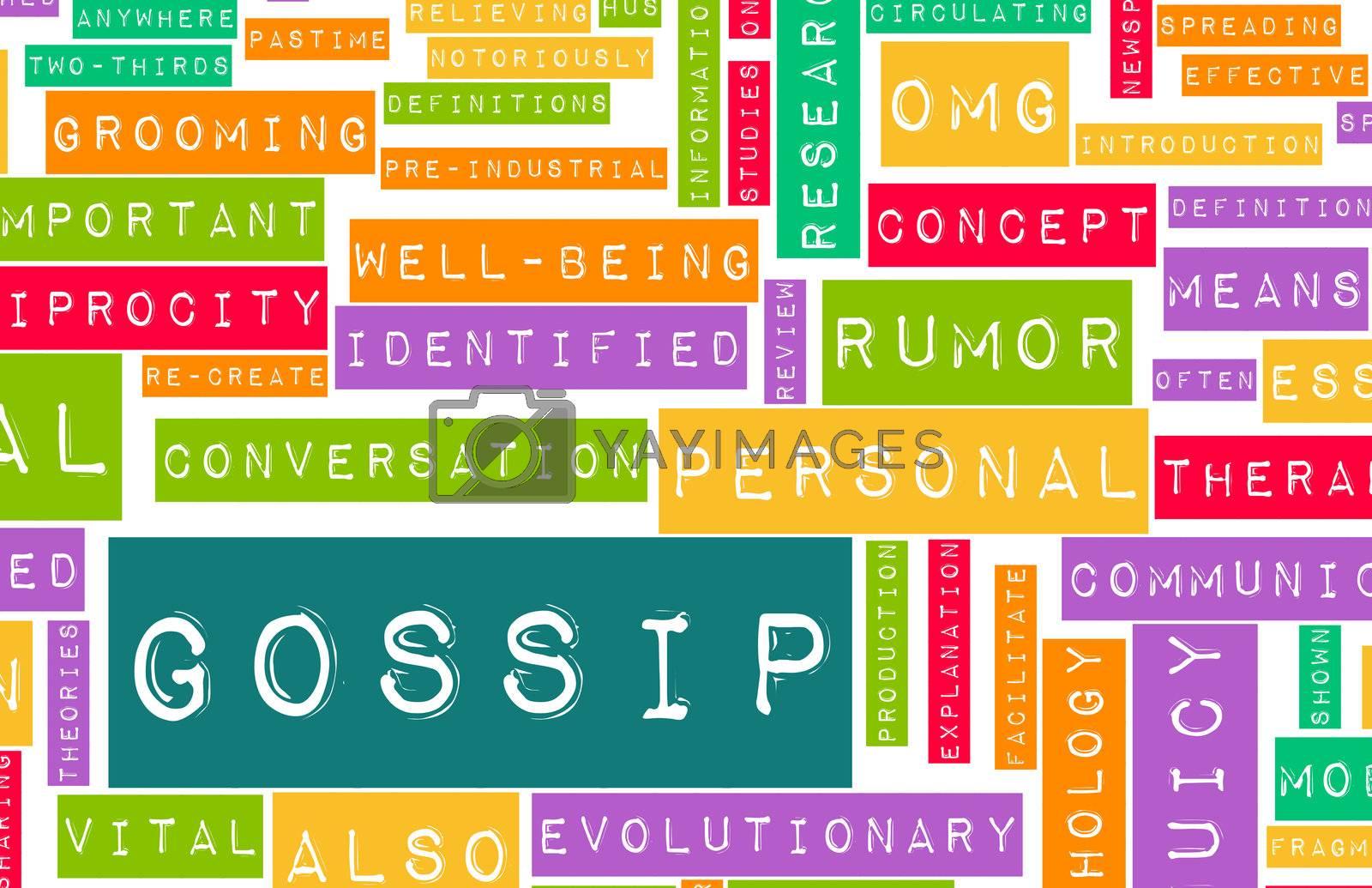 Royalty free image of Gossip by kentoh