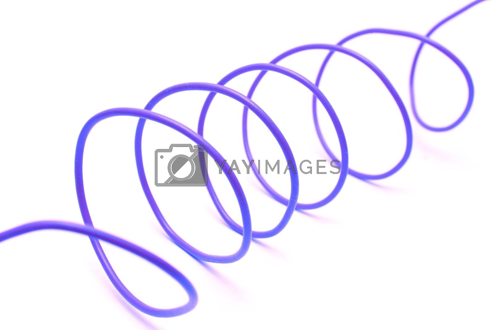 Royalty free image of Electric Wire by Luminis