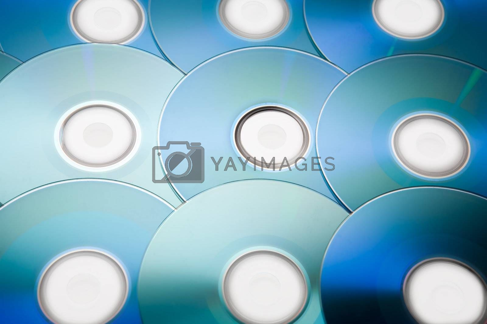 Royalty free image of Compact Discs by Luminis