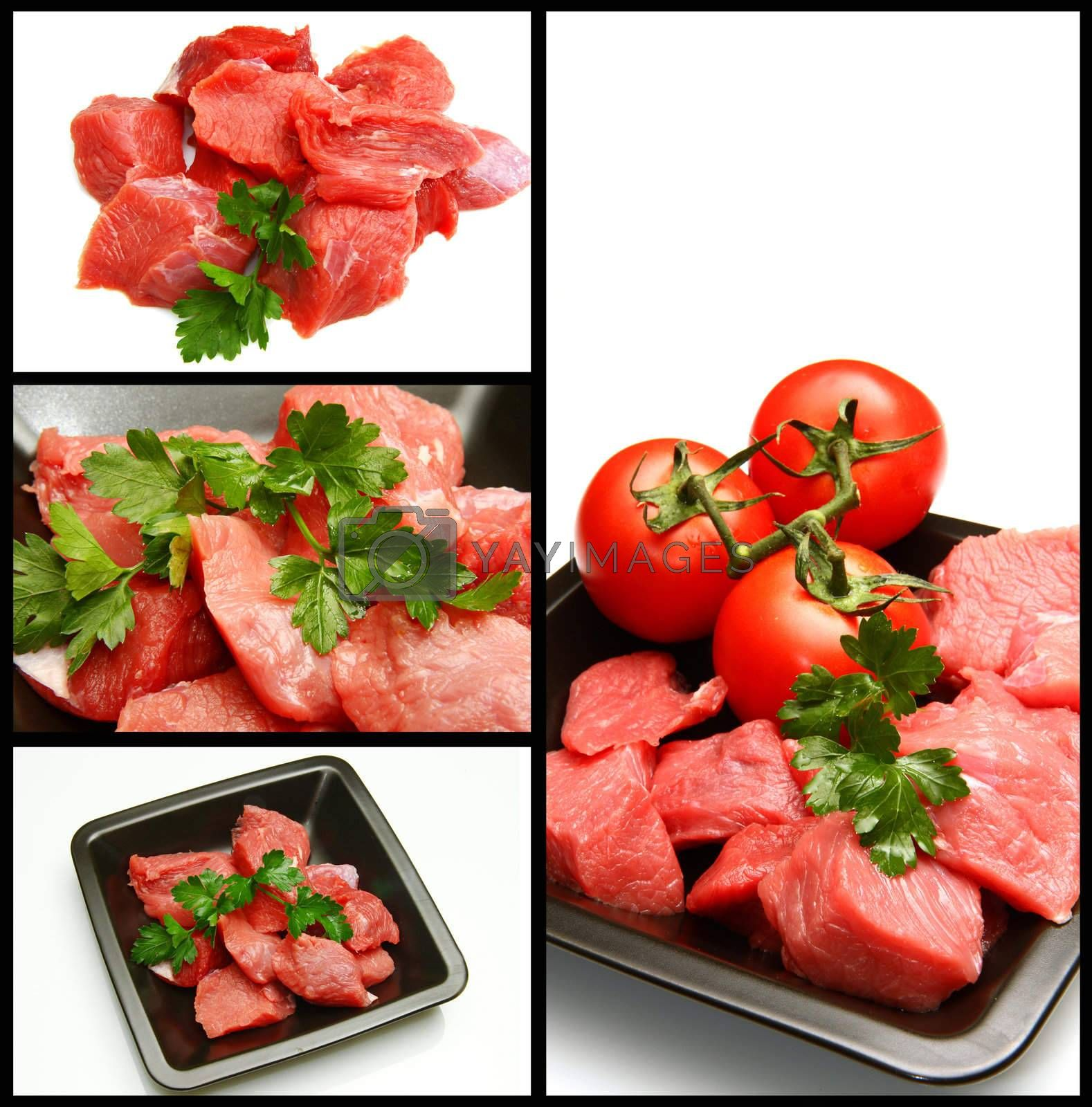 Royalty free image of red meat by lsantilli