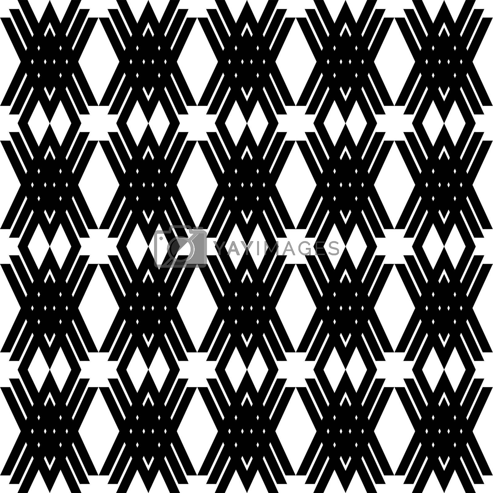 Abstract background of seamless fashion geometric patterns