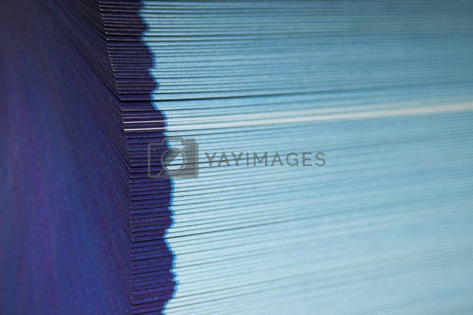Royalty free image of Fanned pages  by simfan