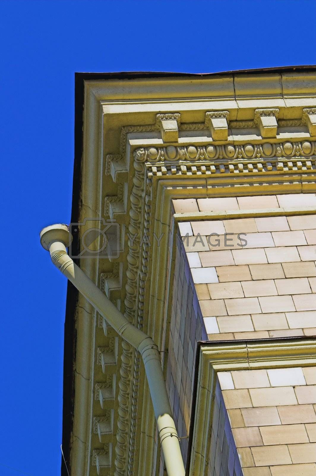 Old Building with Moulded Cornice