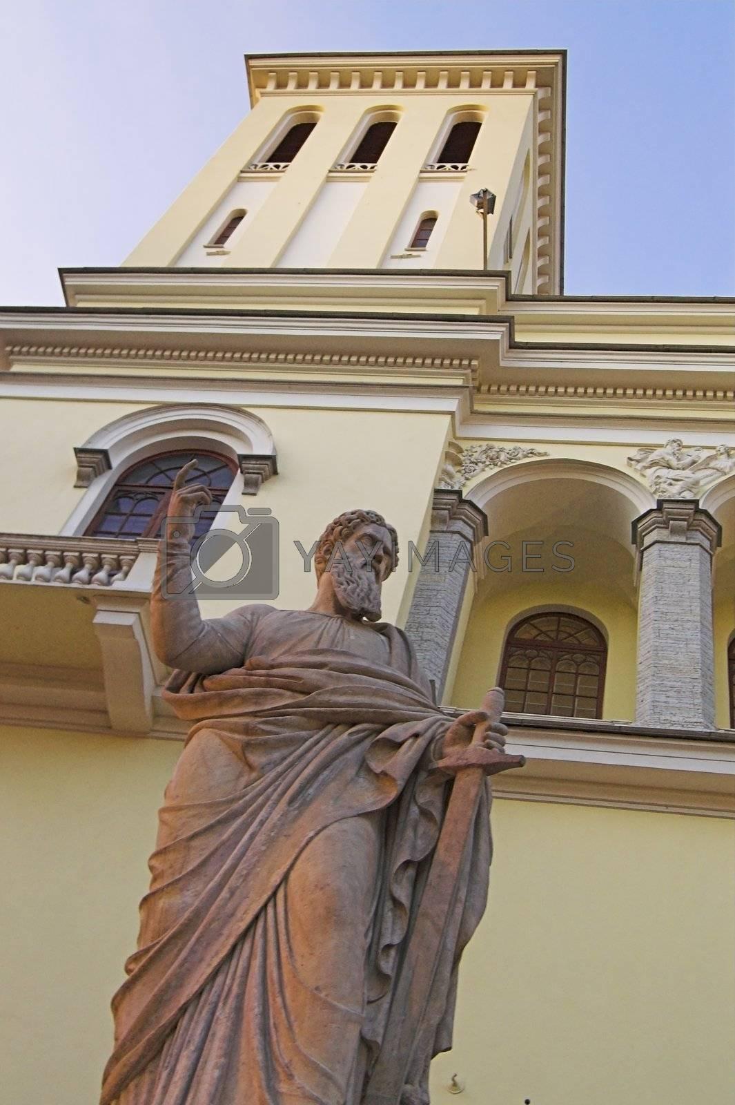 Saint Peter's Sculpture by simfan
