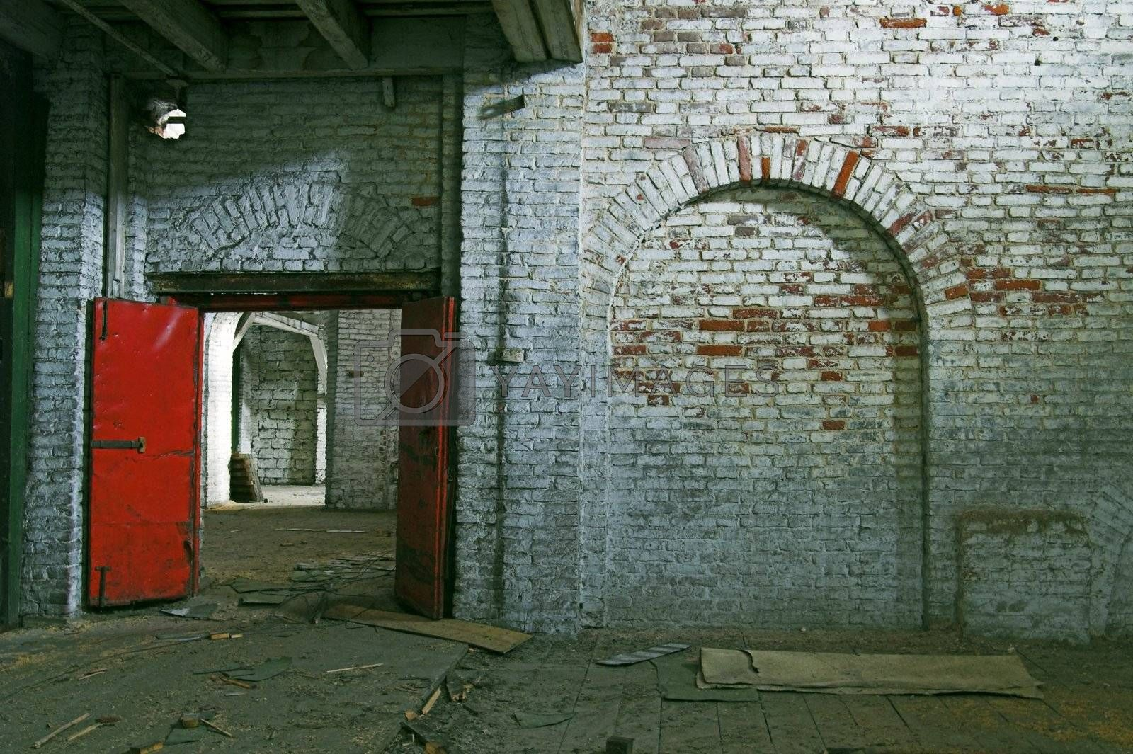 Abandoned Storehouse Building