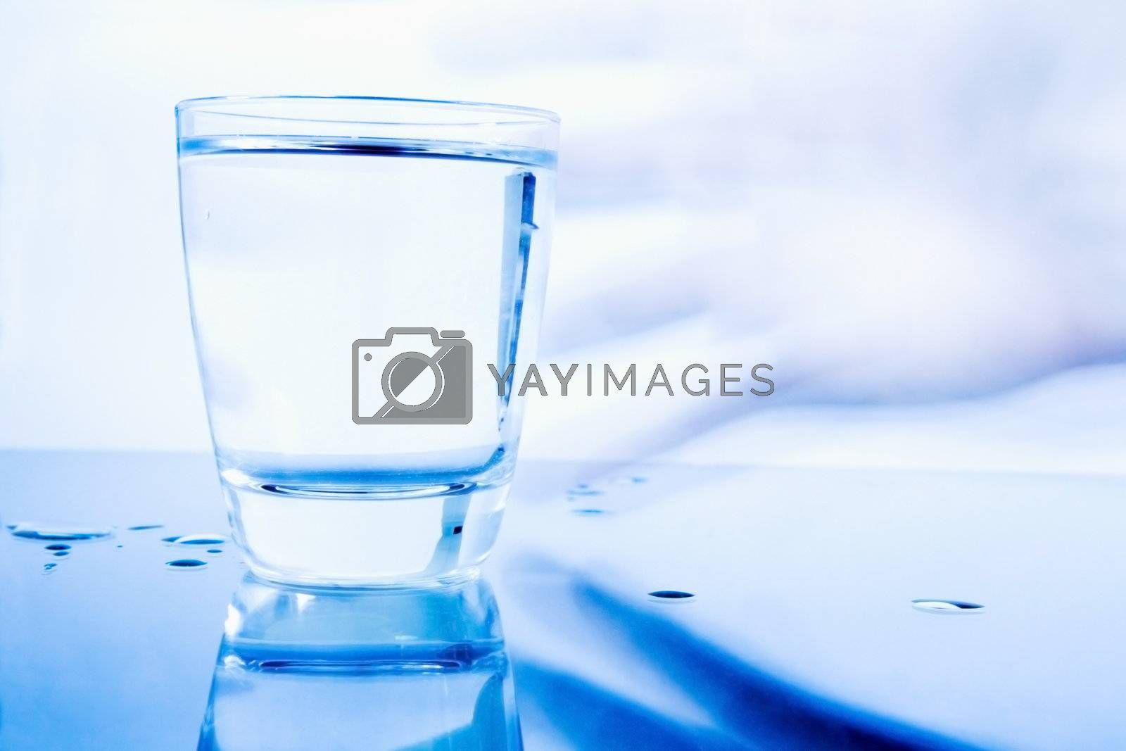 Royalty free image of Glass of Water by Luminis