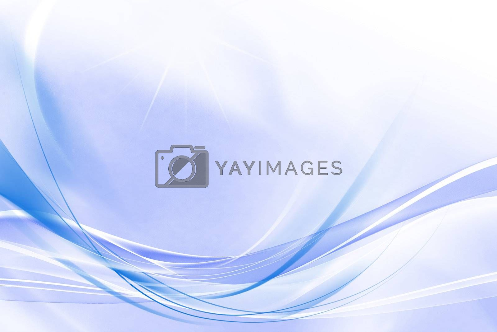 Royalty free image of Abstract background of blue  by ibphoto
