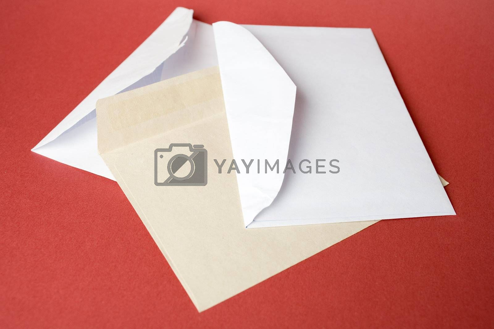 Royalty free image of Envelopes by Luminis
