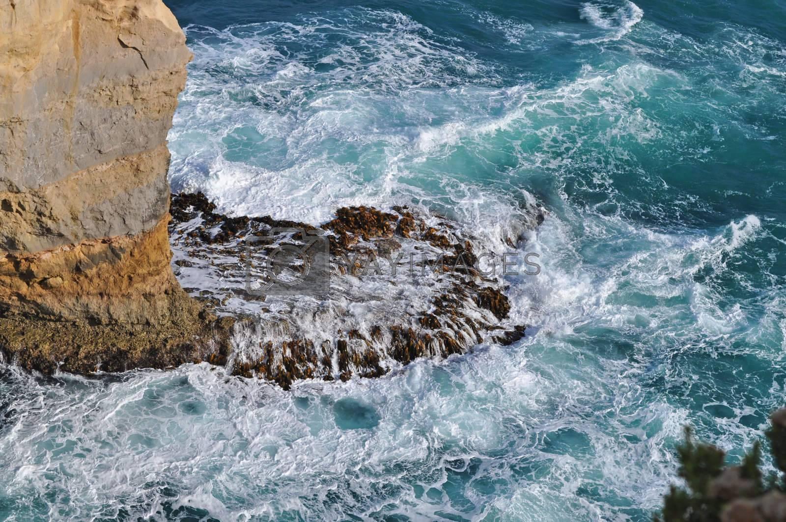Beautiful Blue Ocean Waves. Australia