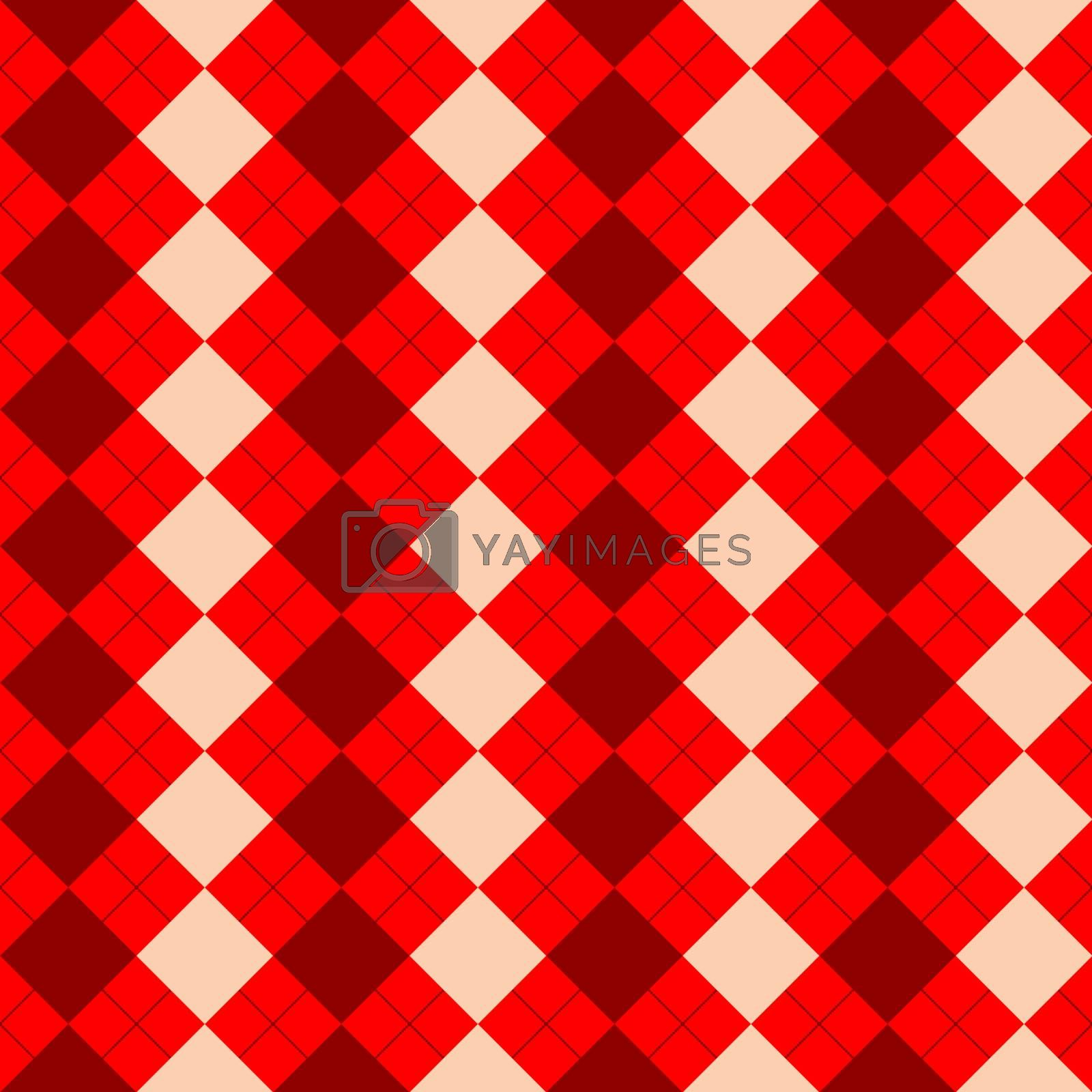 sweater texture mixed red texture, vector art illustration
