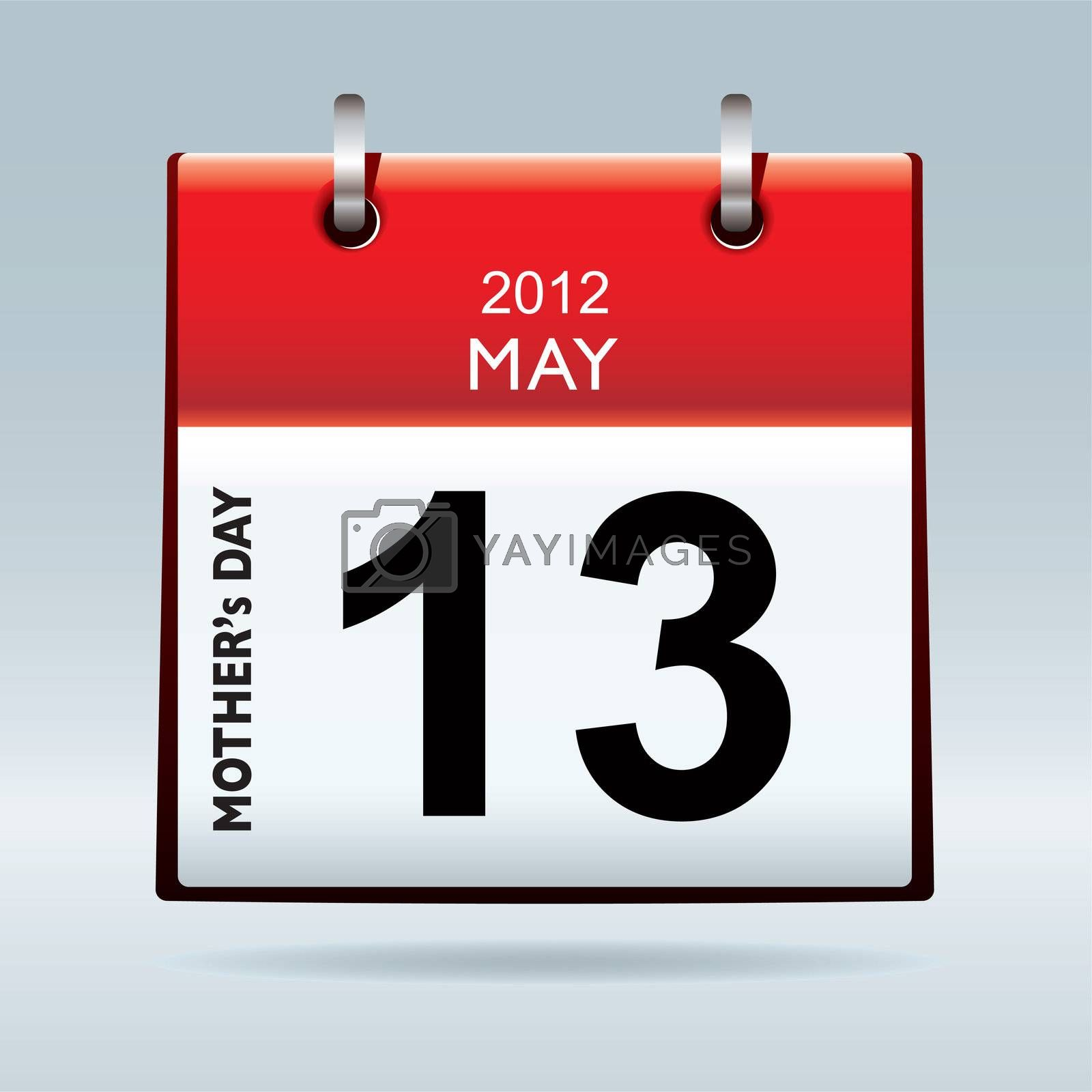 United states and canada mothers day for 2012 on calendar