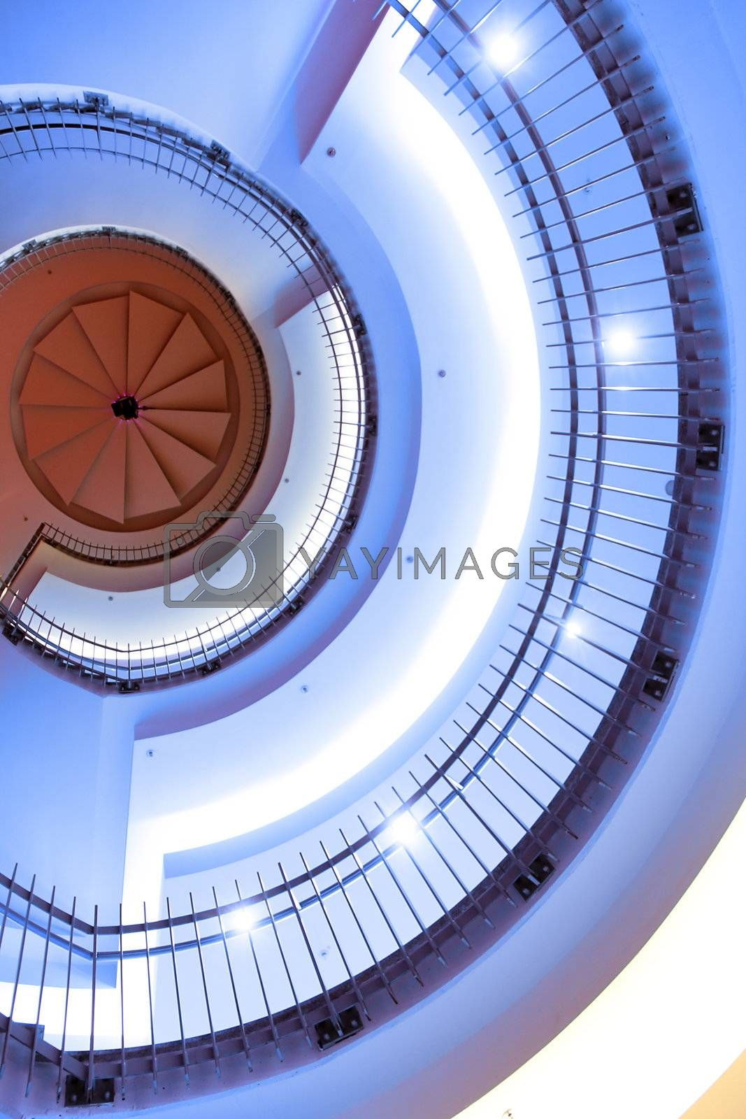 spiral stairs by Hasenonkel