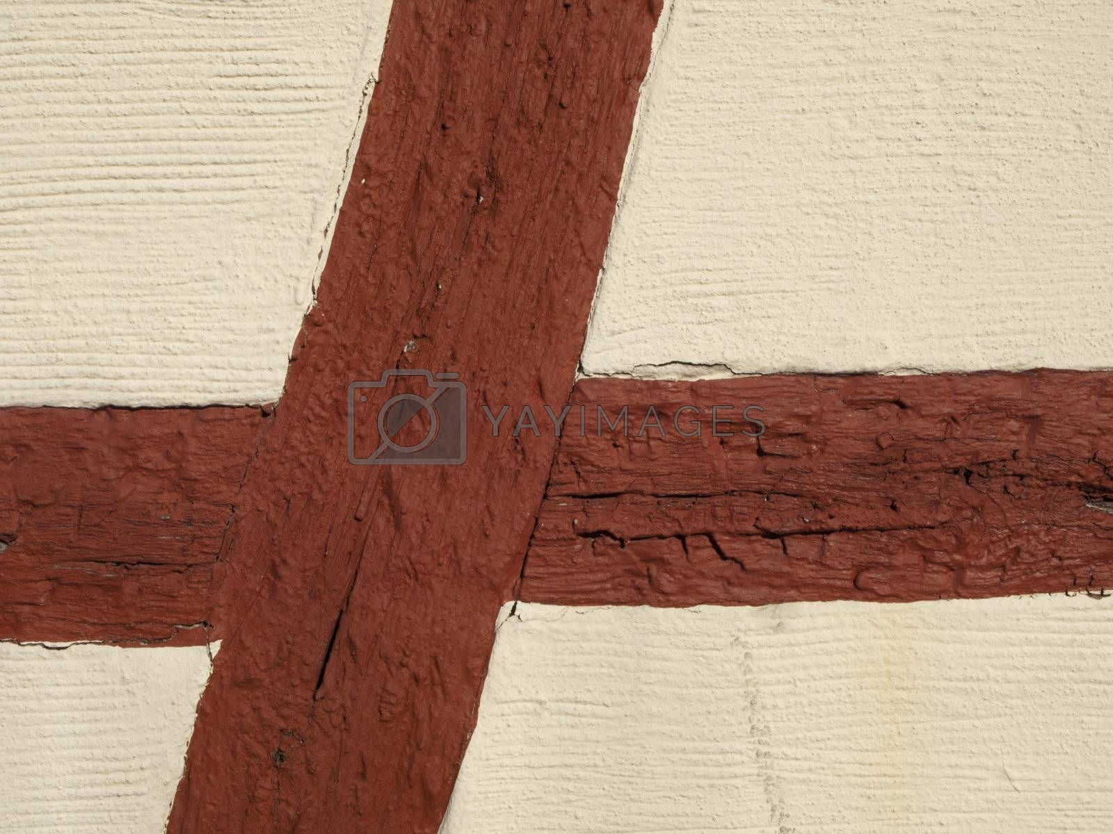 Half timbered work