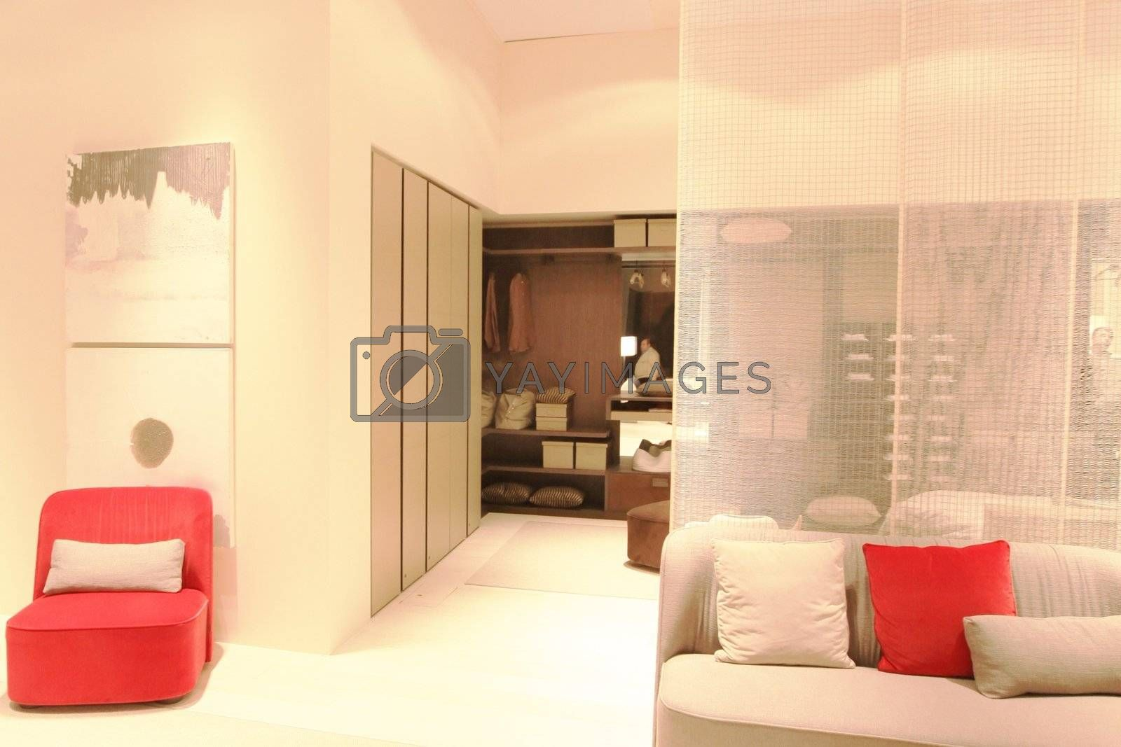 Salone del Mobile 2011, international furnishing accessories exhibition in Milan, Italy.