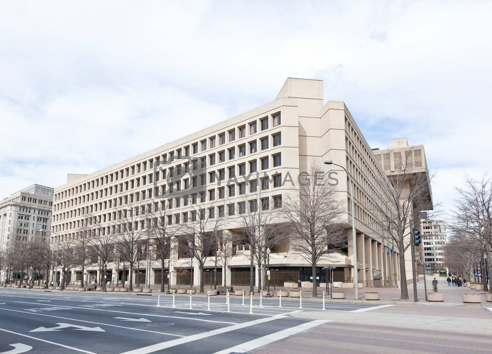 FBI building in Washington DC USA. This building was erected in 1908