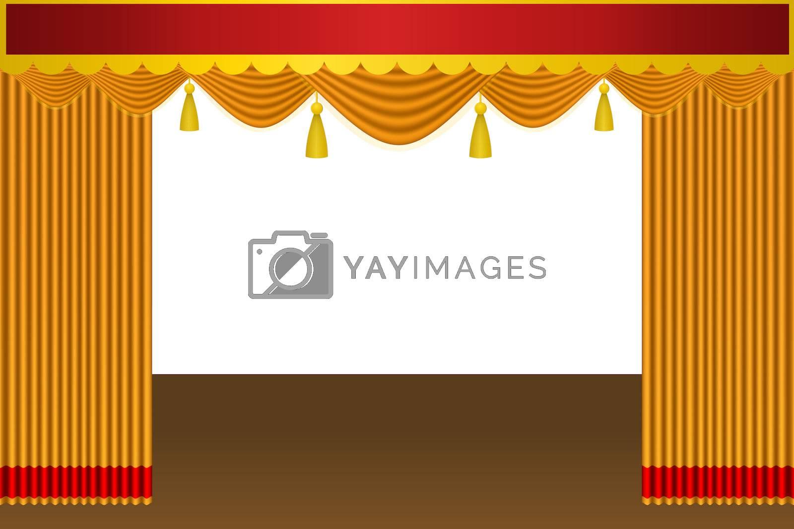 illustration of theatre