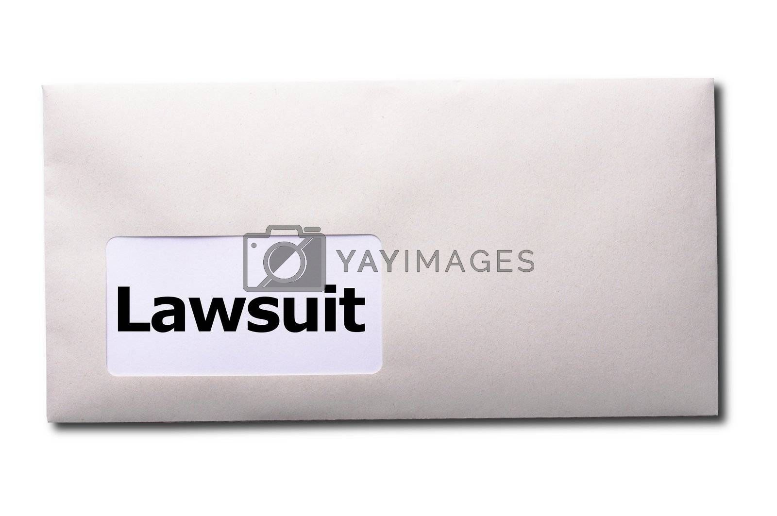 Royalty free image of lawsuit by gunnar3000