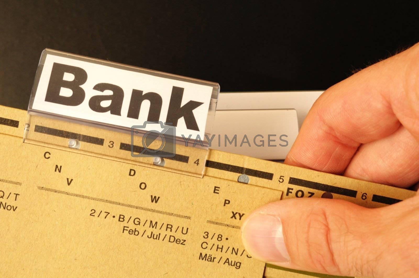 Royalty free image of bank by gunnar3000