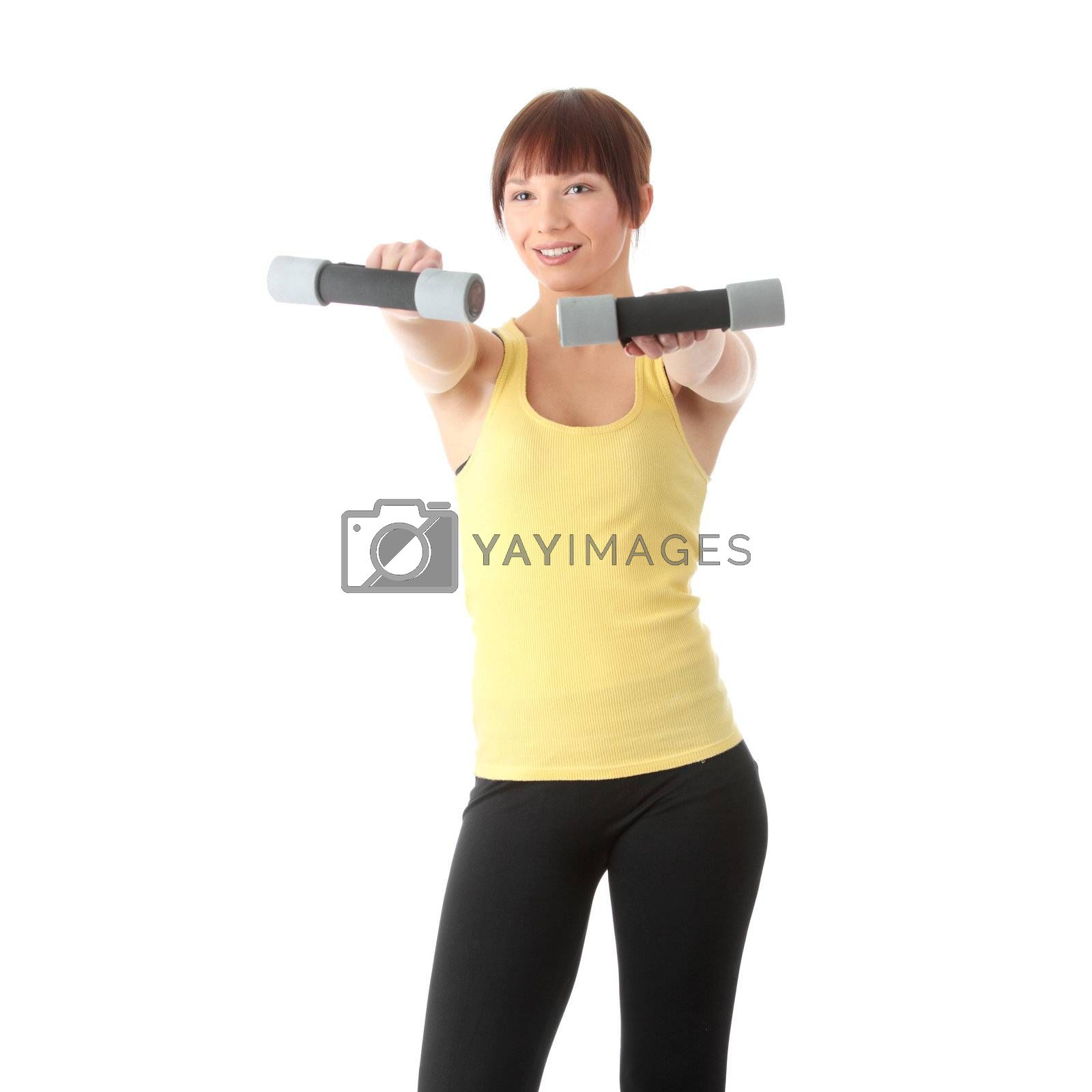 Royalty free image of Fitness by BDS