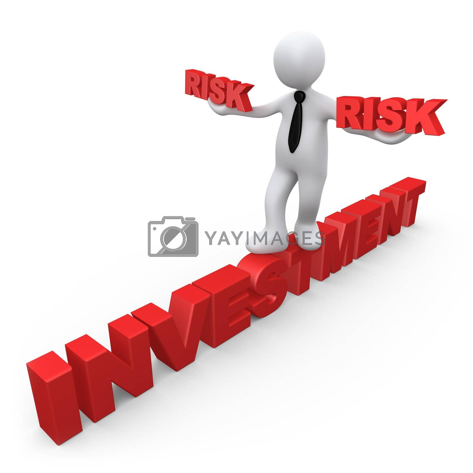 3d metaphor of risk in investment .