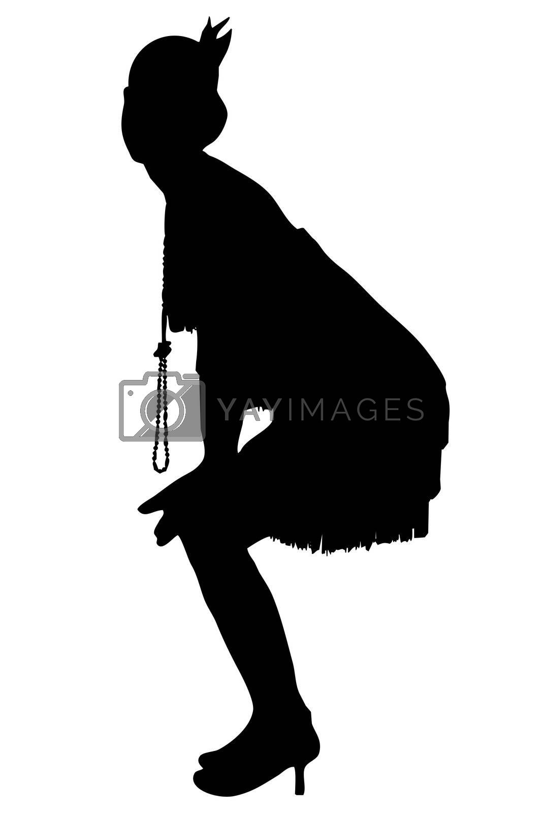1920 silhouette by vanell