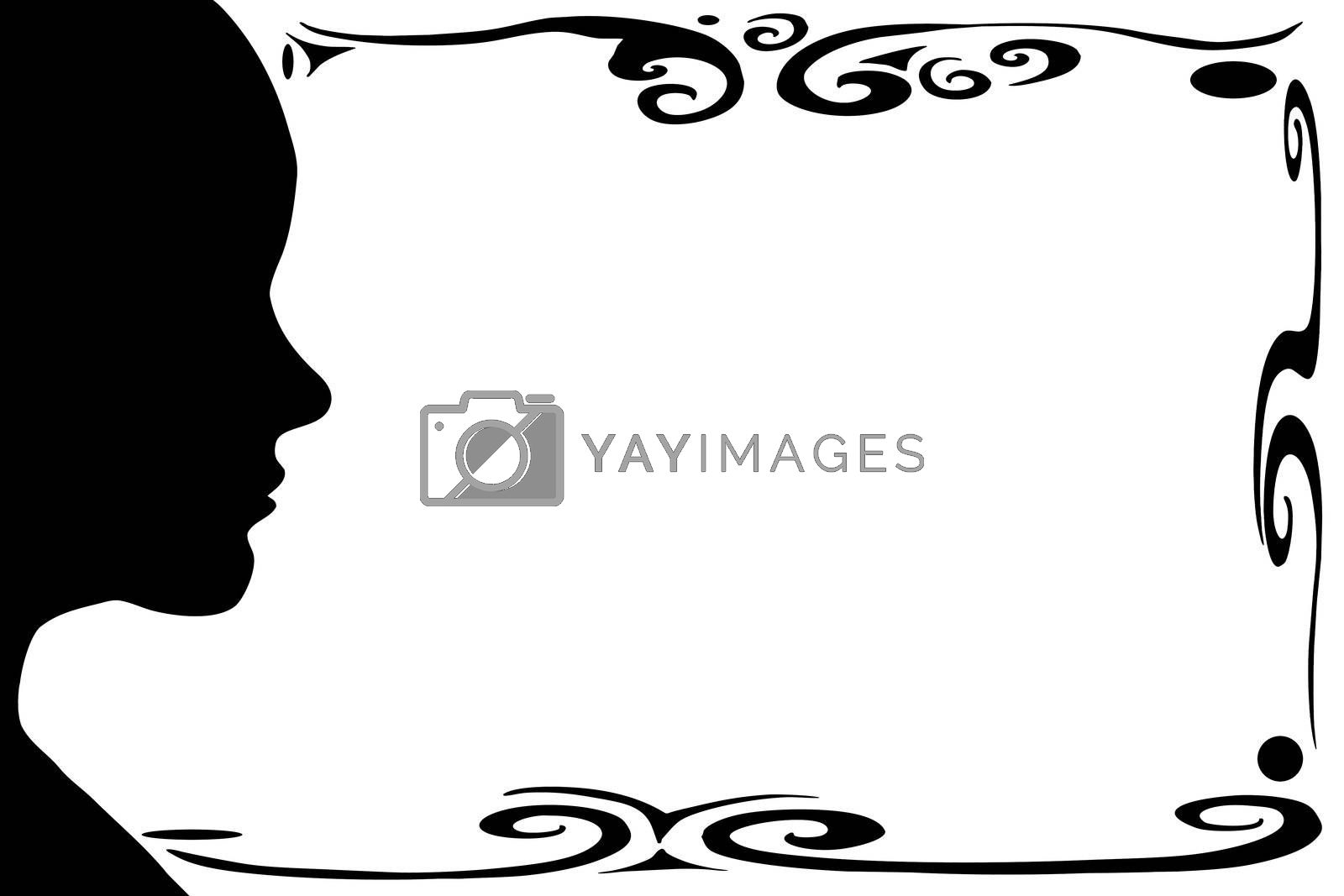 Female profile by vanell