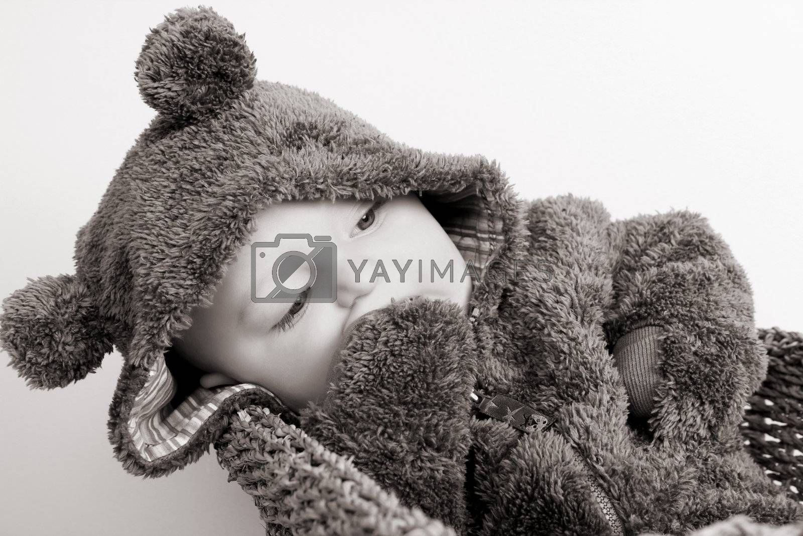 Bear Suit Baby by vanell