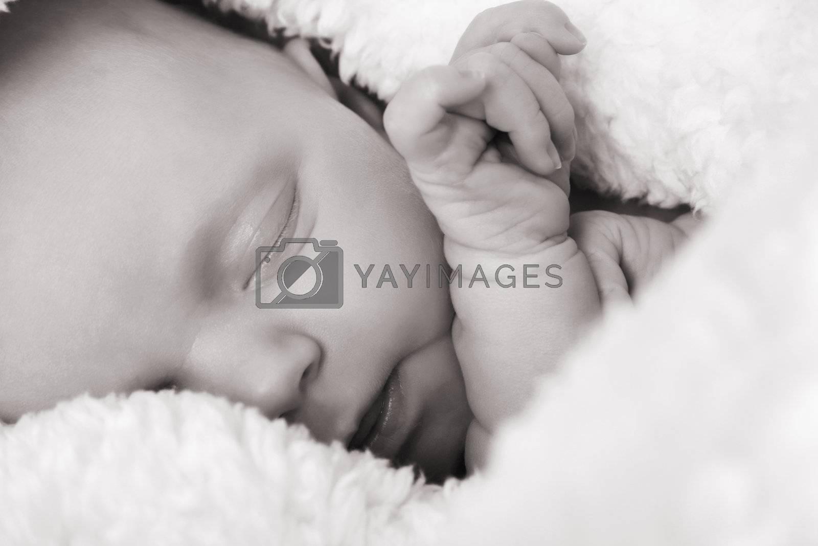 Newborn baby by vanell