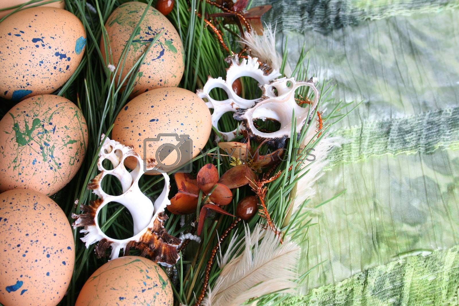 Easter Wreath by vanell