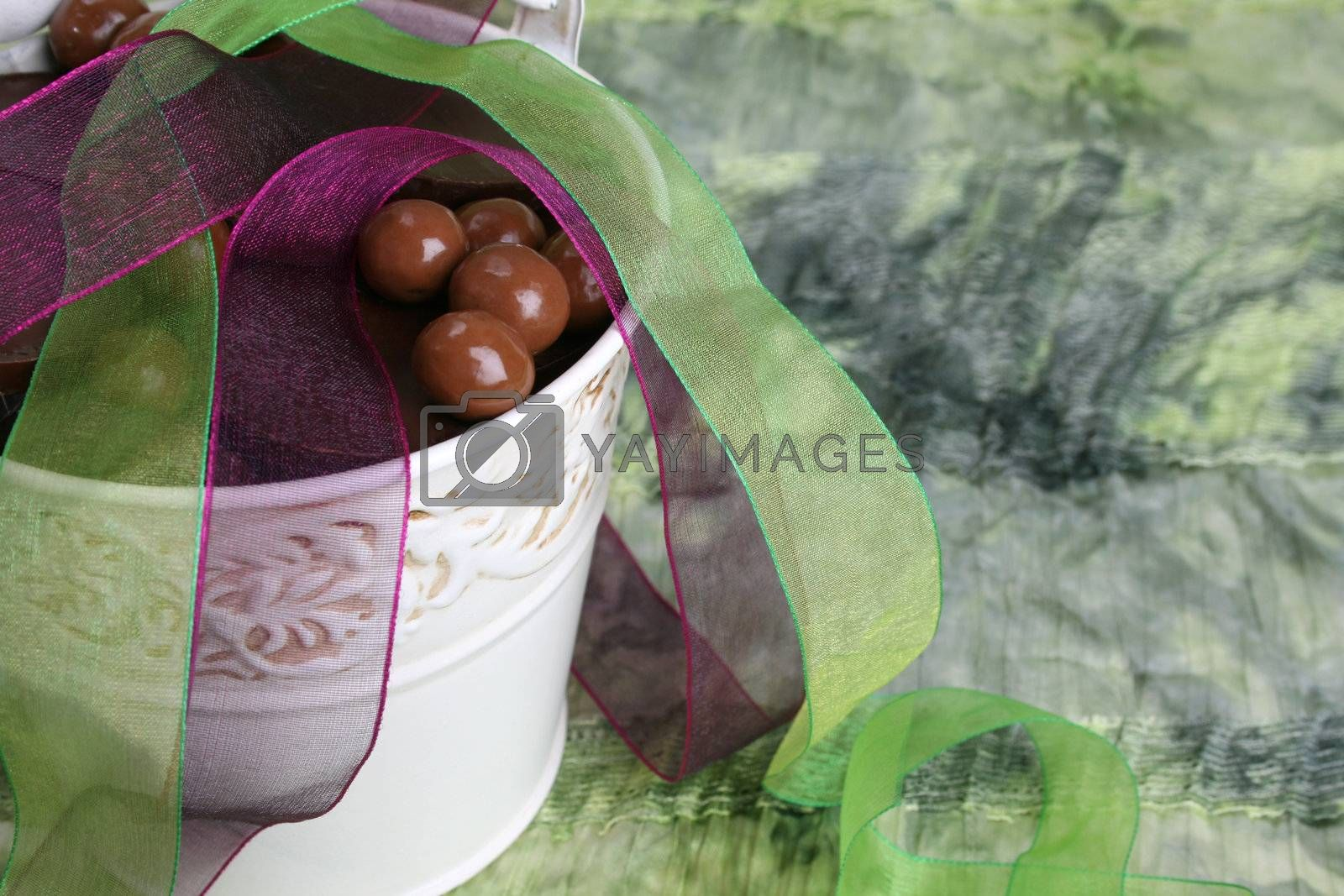 Chocolate bucket by vanell