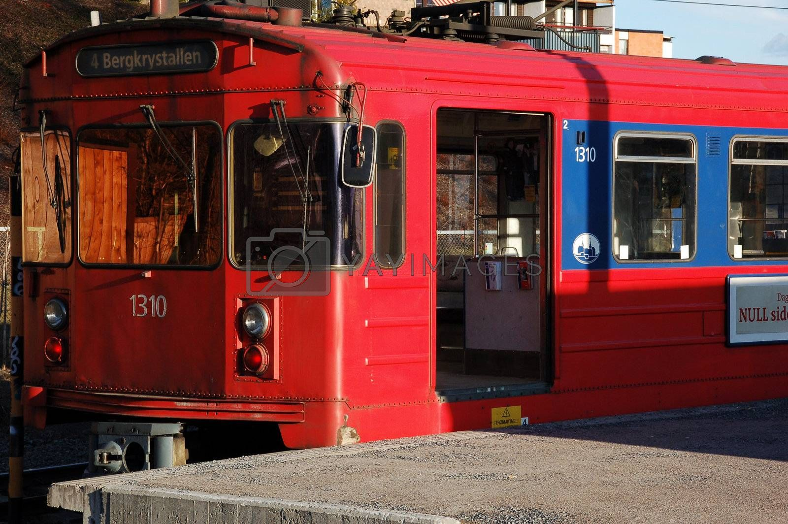 Local train in Oslo
