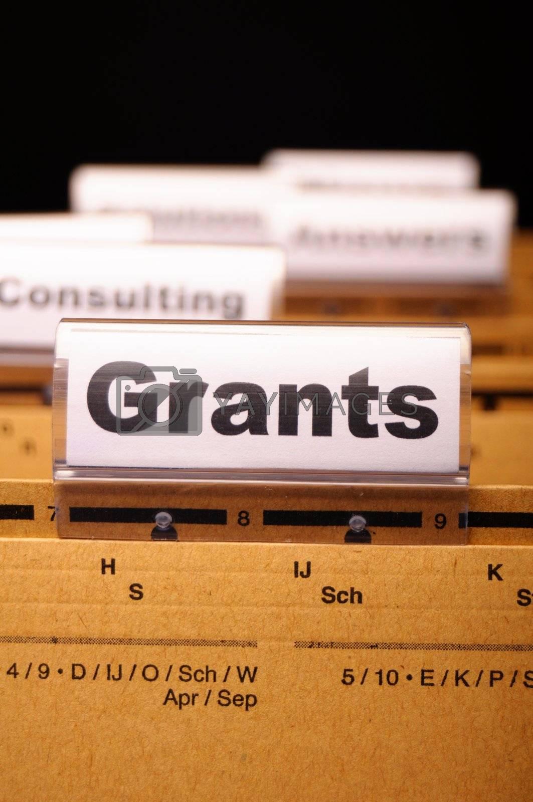 Royalty free image of grants by gunnar3000