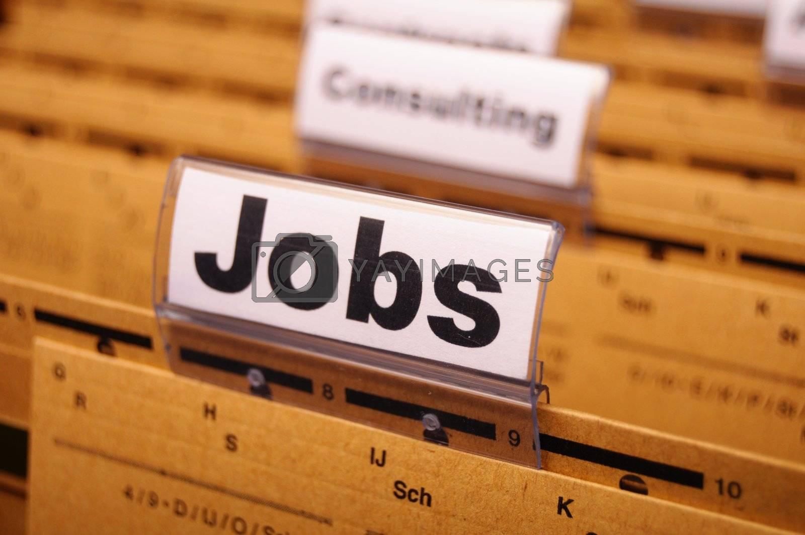 Royalty free image of jobs by gunnar3000