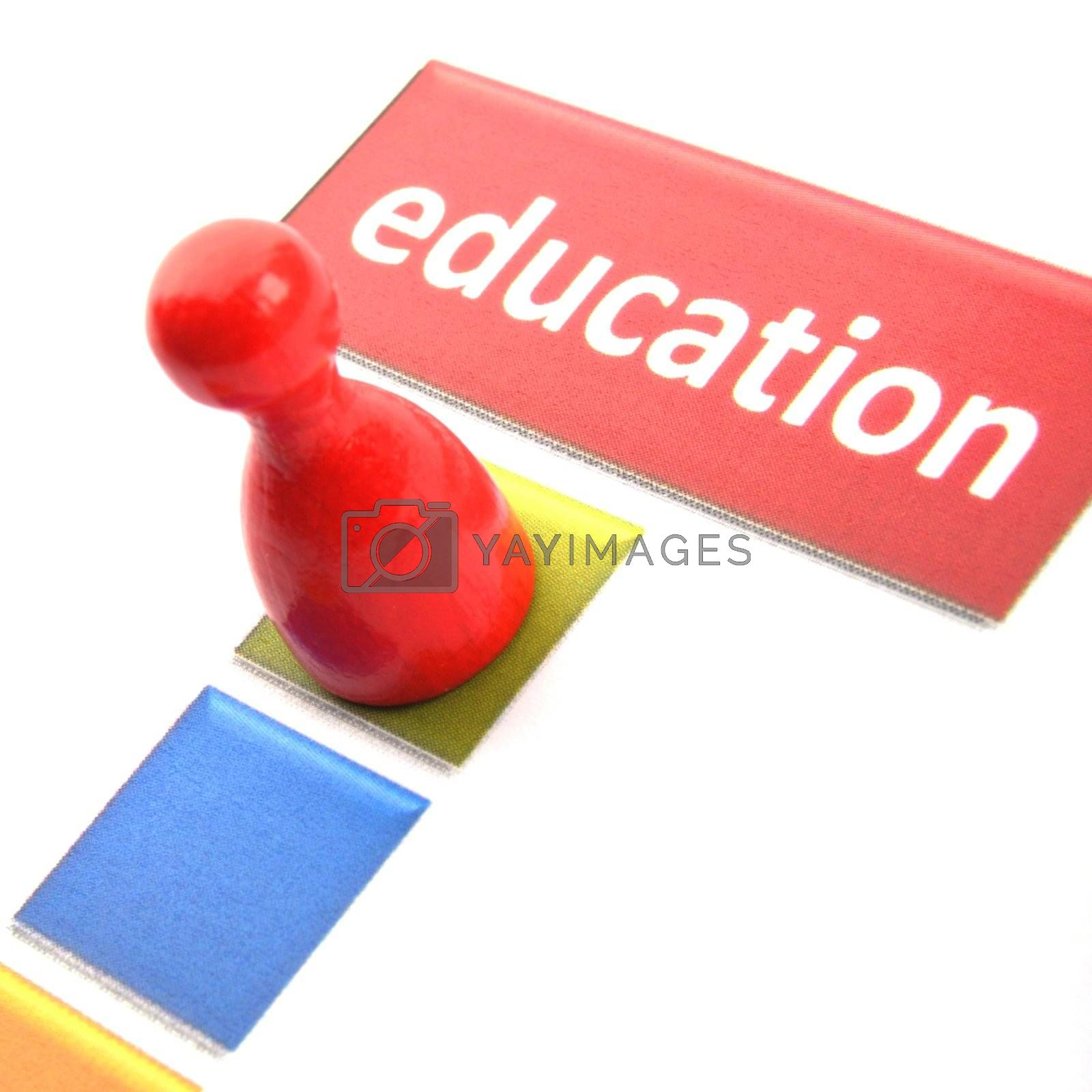 education word showing school learn or university concept