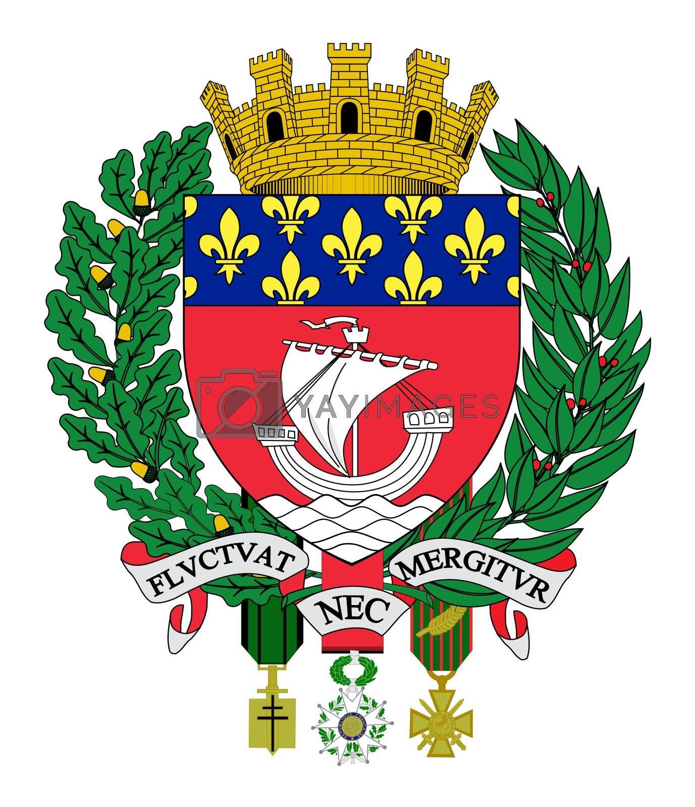 Paris Wappen