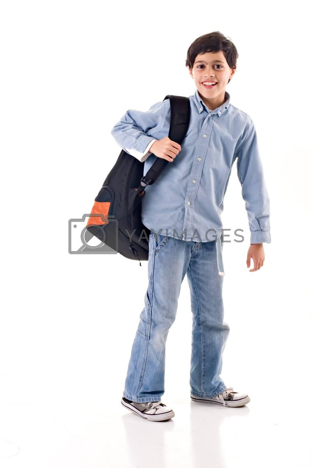 Royalty free image of School Boy by ajn