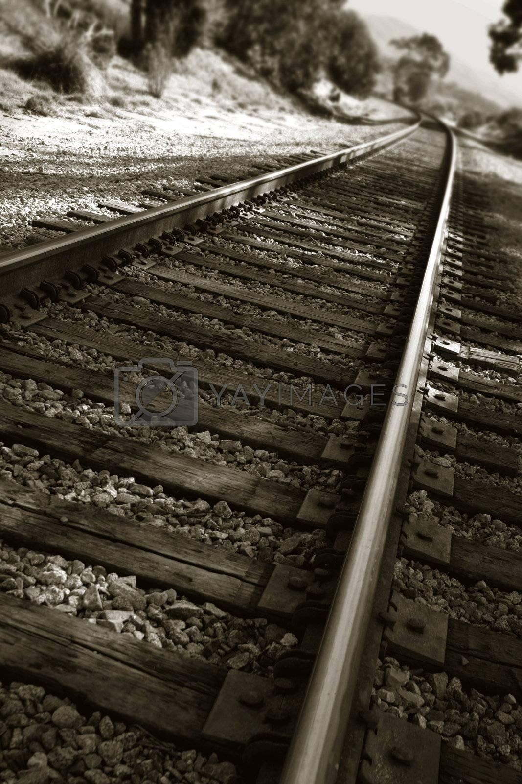 Railroad Tracks by hlehnerer