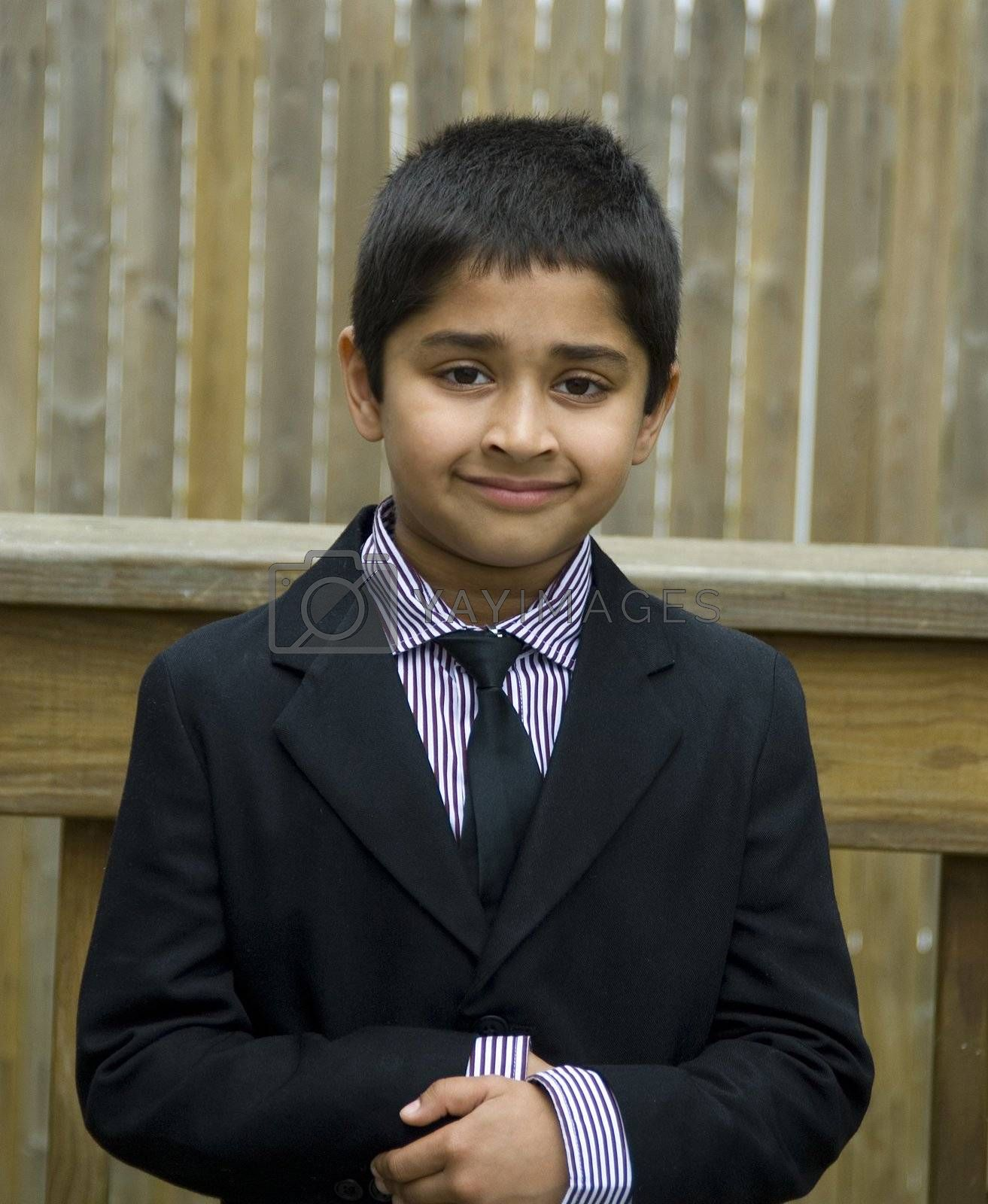 Cute kid Formally Dressed by pazham