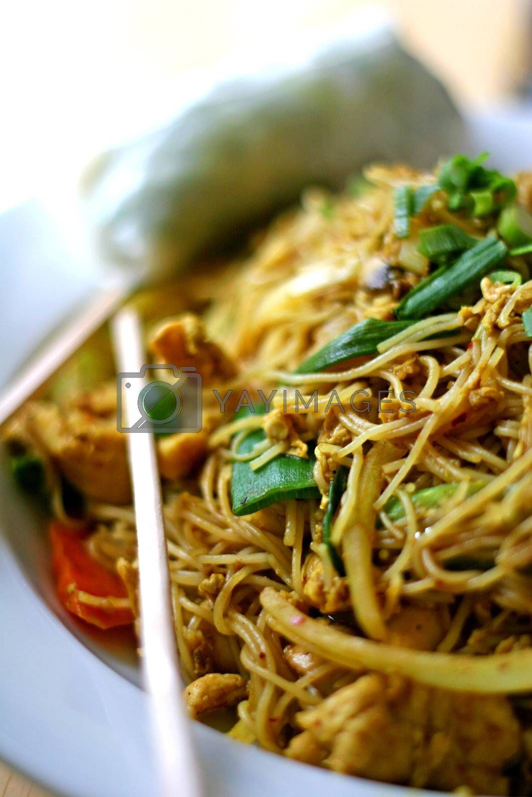 Asian Noodles by dbvirago