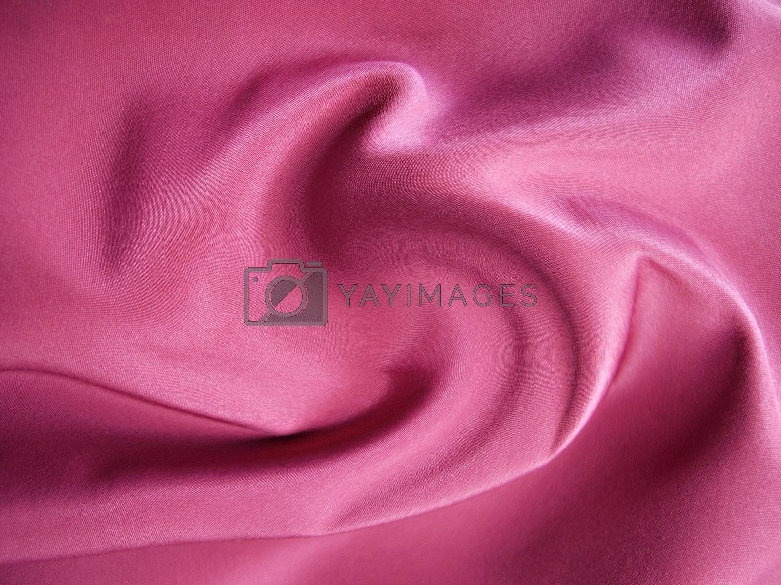 pink cloth by Woldee