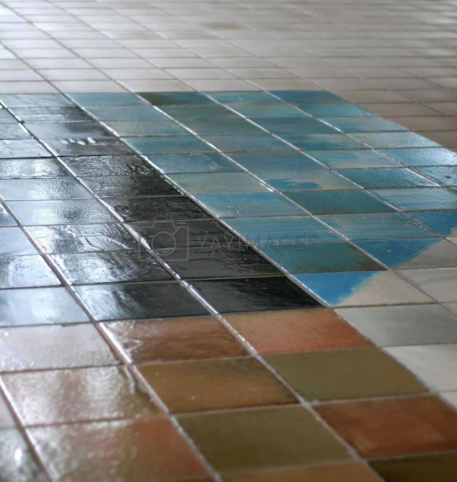 Tile Floor by dbvirago