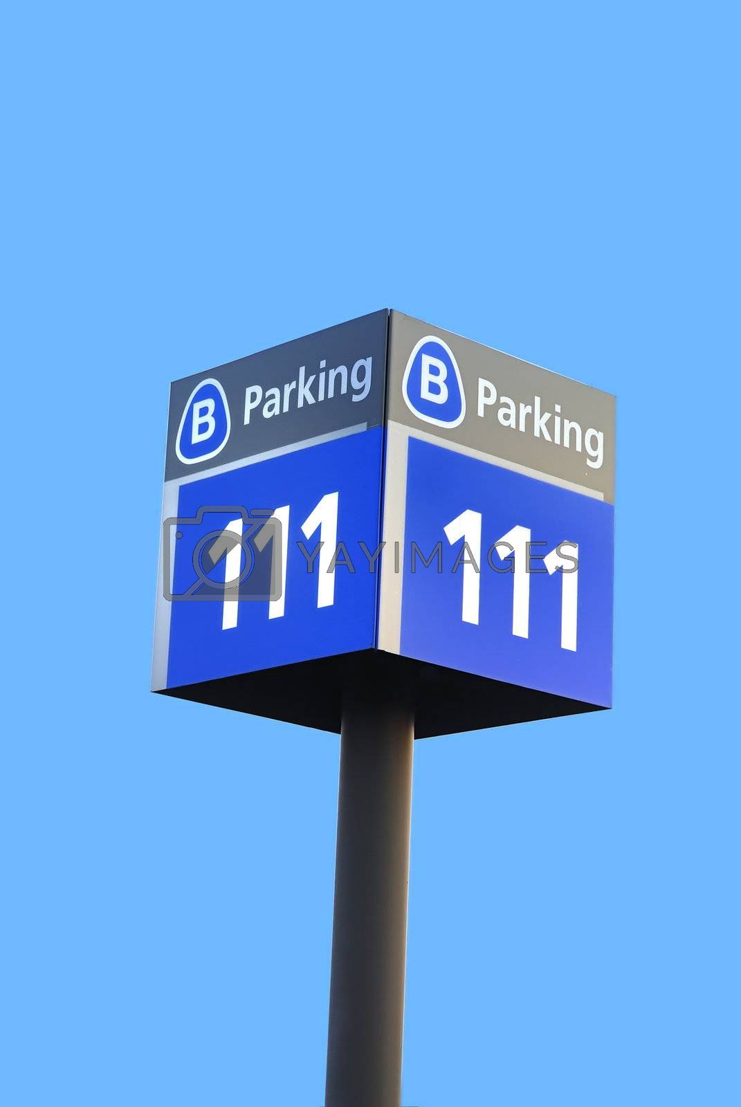 Parking Sign by pazham