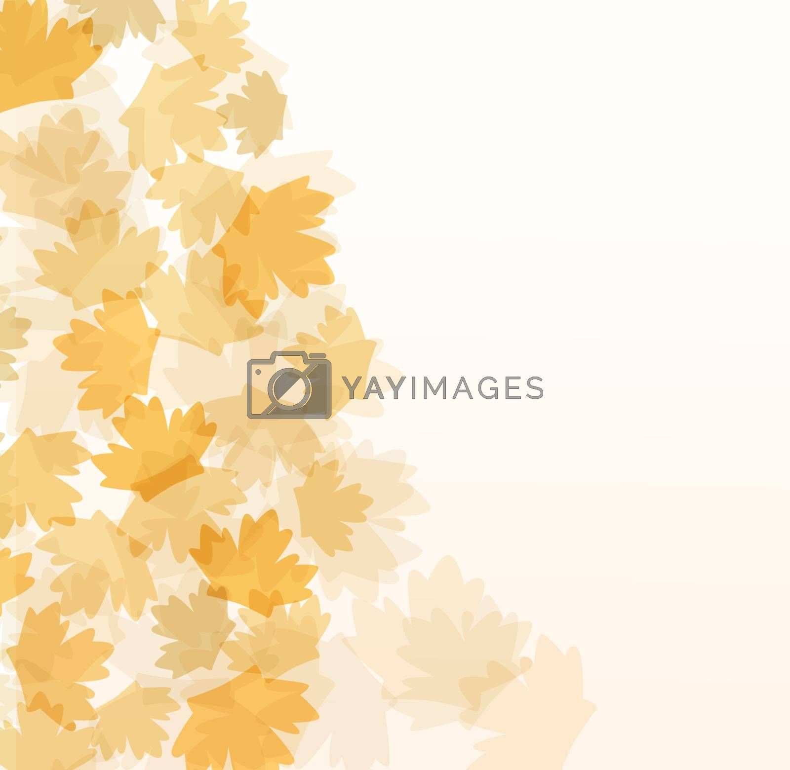 fall autumn vector background greetings card royalty free
