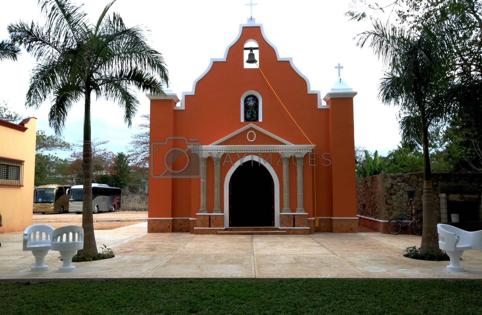 Memorial church built for Mayans in Mexico