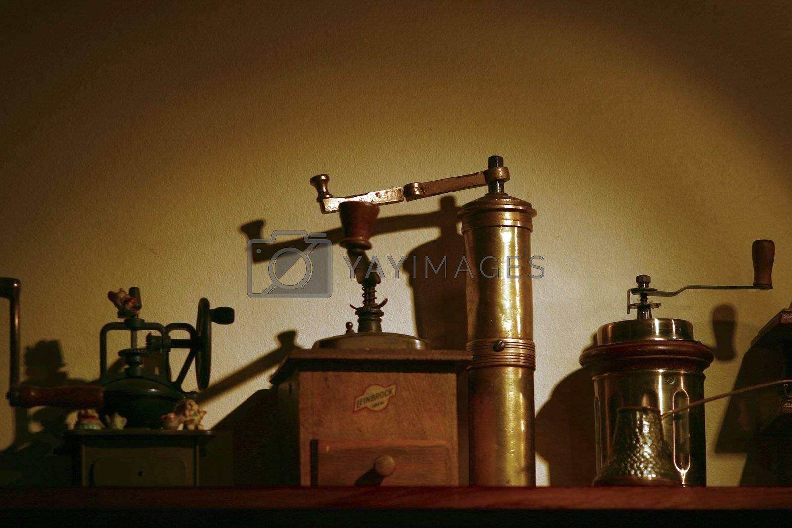 Old coffe grinder