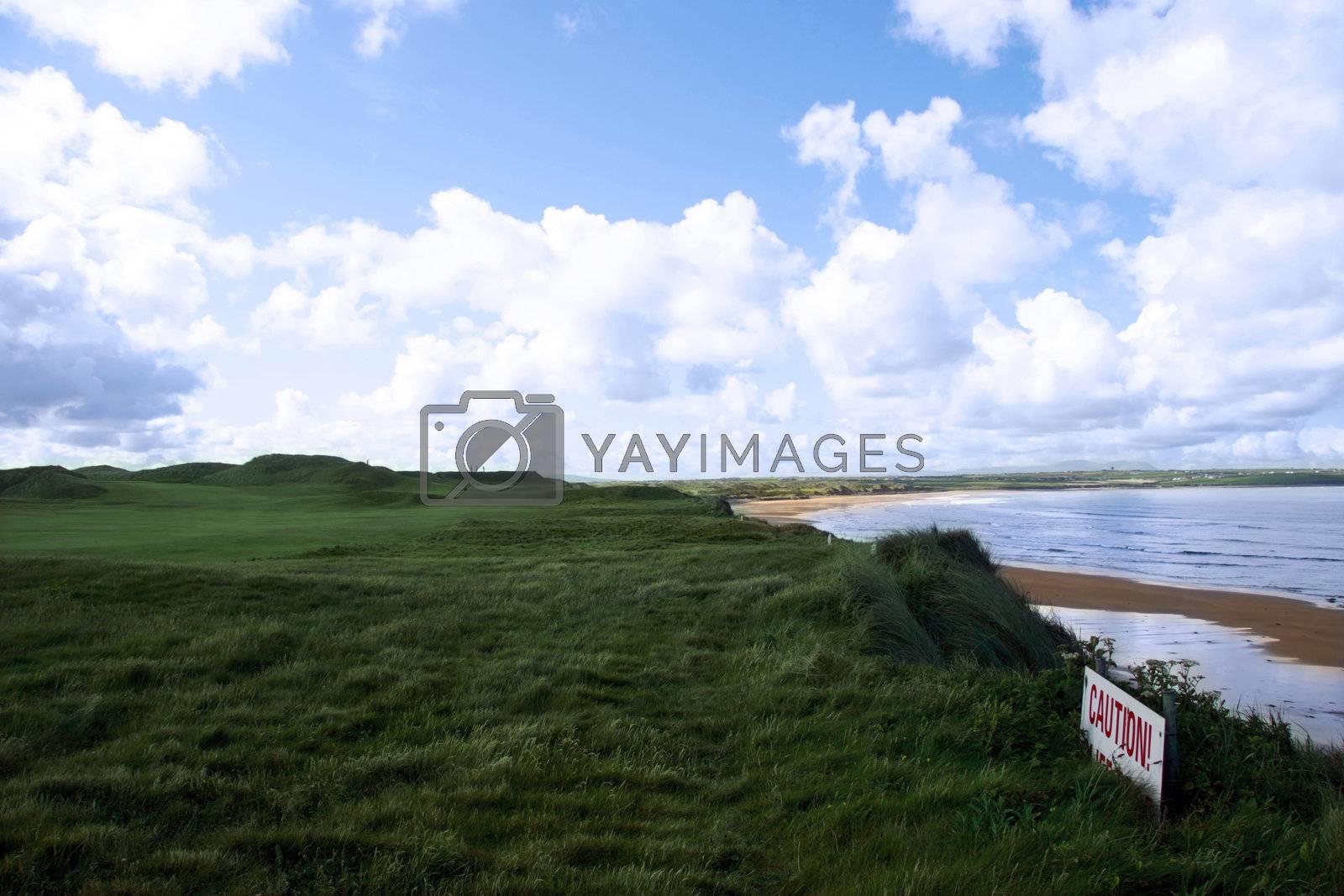 view of ballybunion golf course