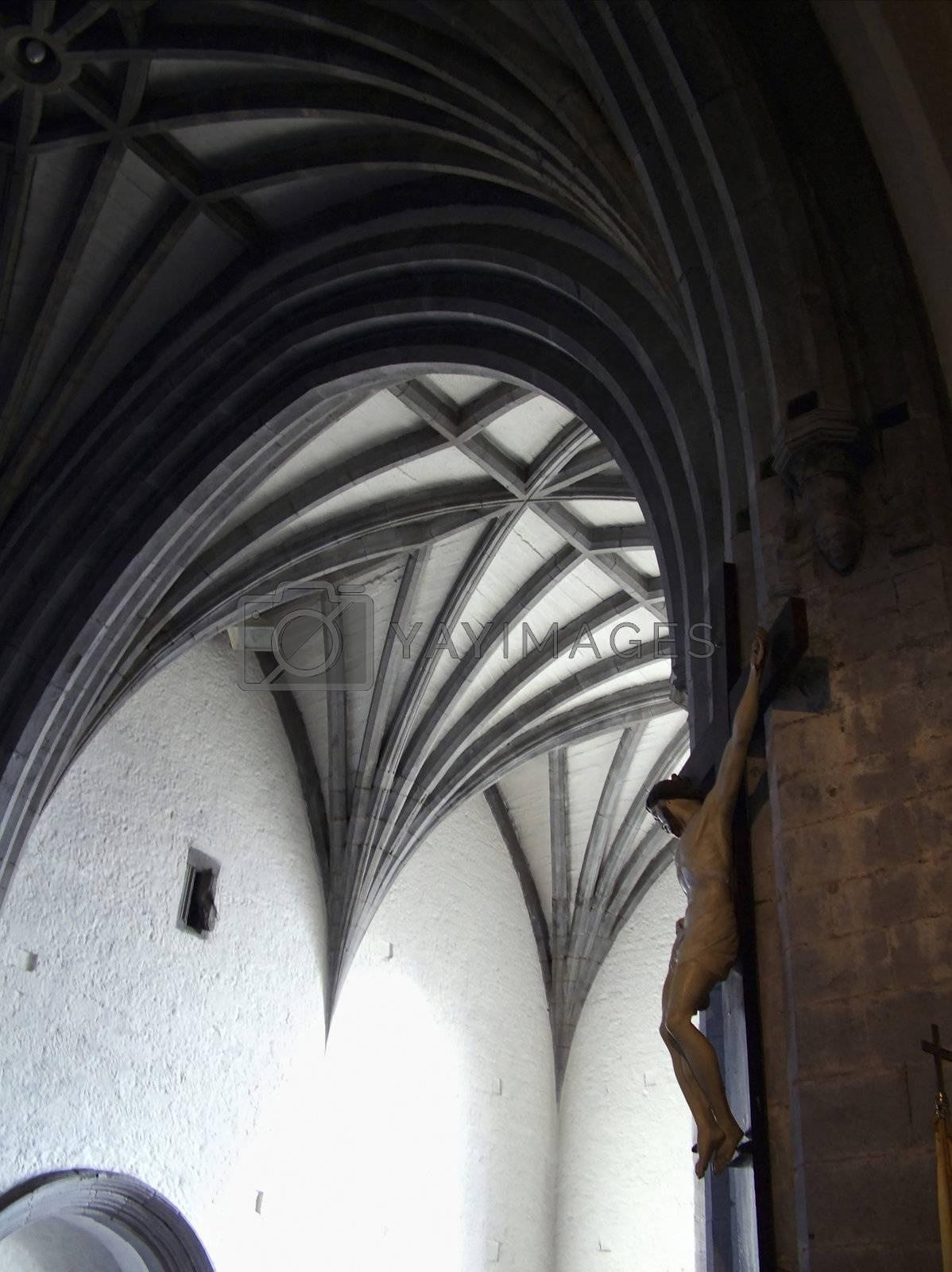 inside hollycross church in ireland