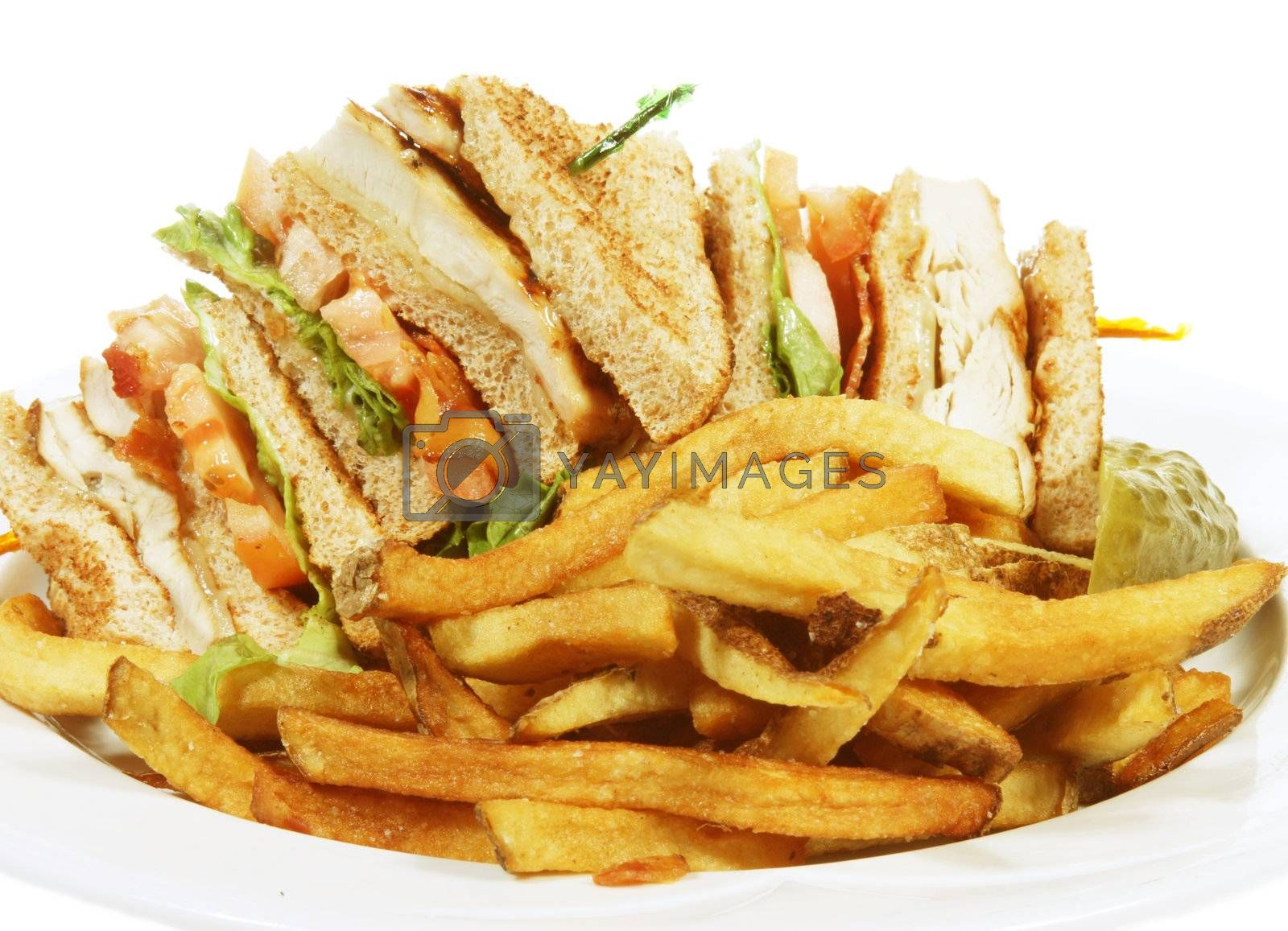 club sandwich by smitea