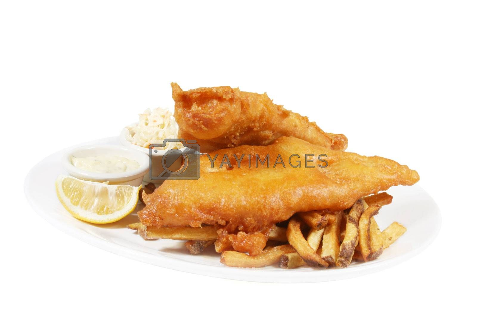 fish and chips by smitea