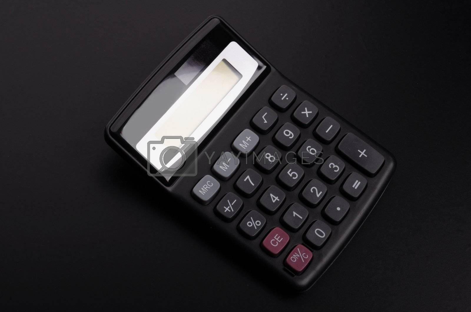 Royalty free image of calculator by gunnar3000
